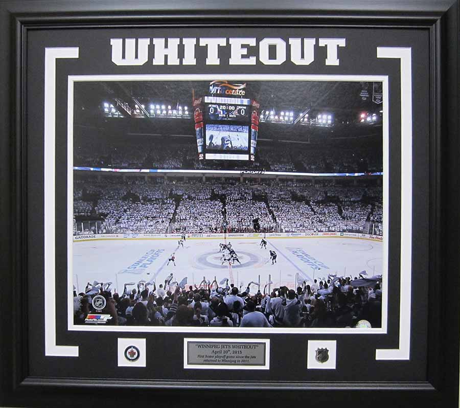 "Winnipeg Jet ""White-Out"""